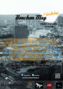 Bouchon Mag 1st Birthday @ Live Club