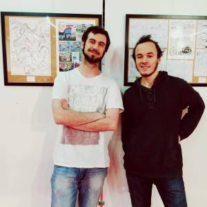 Benjamin Costanza et Geg Simon