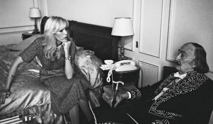 Amanda Lear et Dali